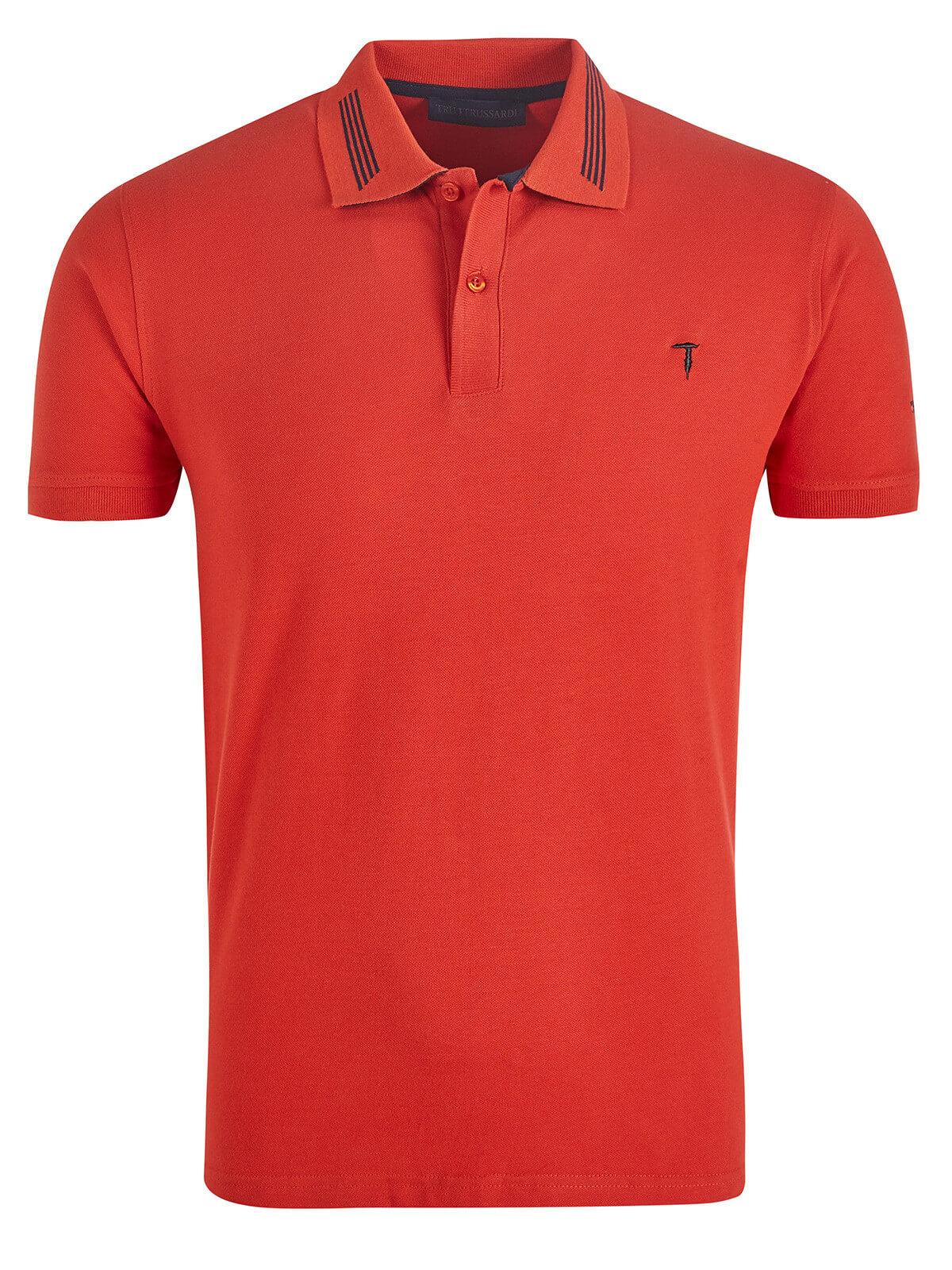 acfe8ad388b1 Trussardi Poloshirt red   Fashionesta online shop