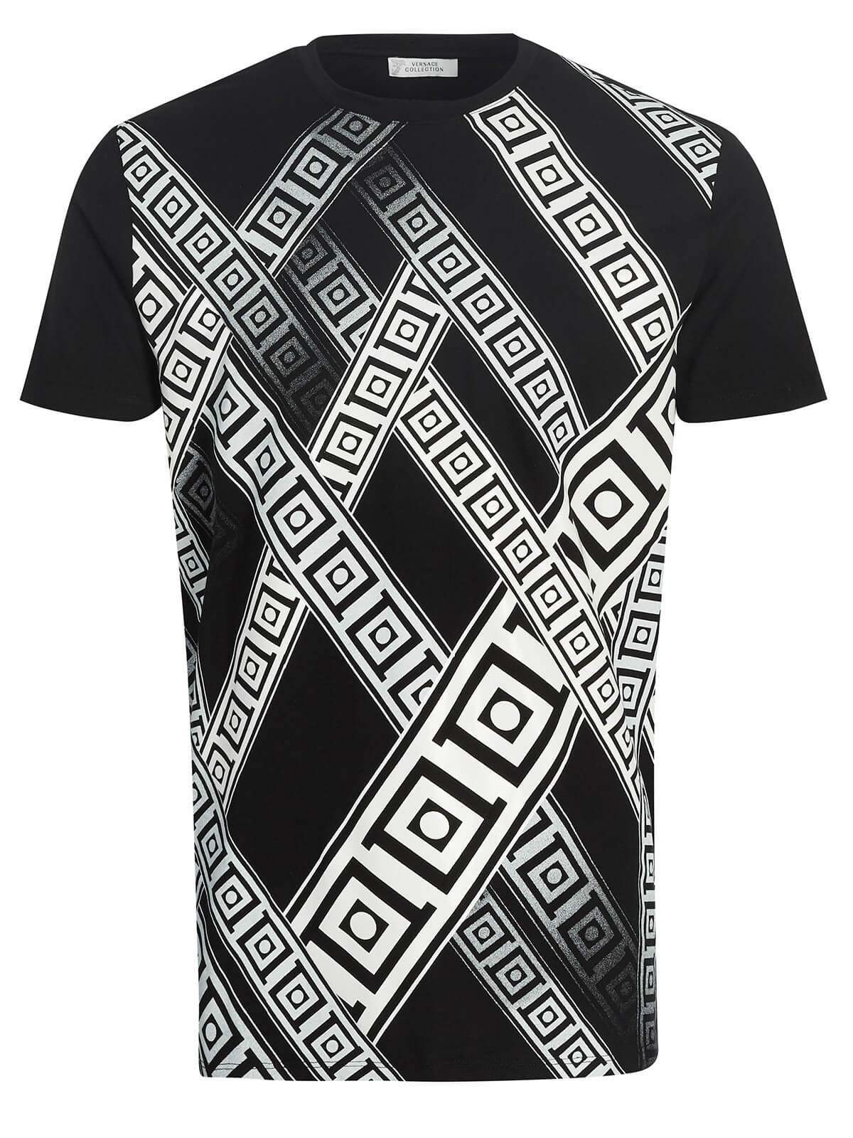 Versace Collection T-shirt black   Fashionesta online shop f989c73c87b