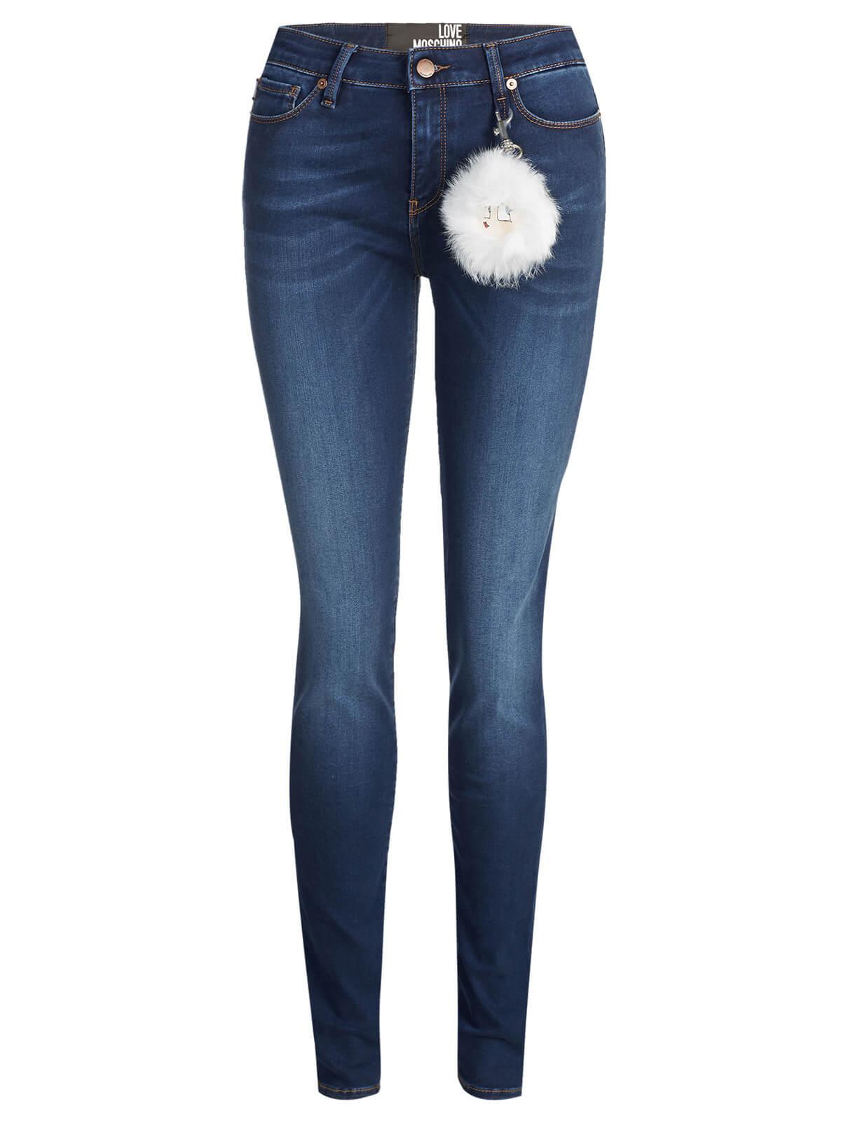 0ff3a5abab Love Moschino Jeans dark blue