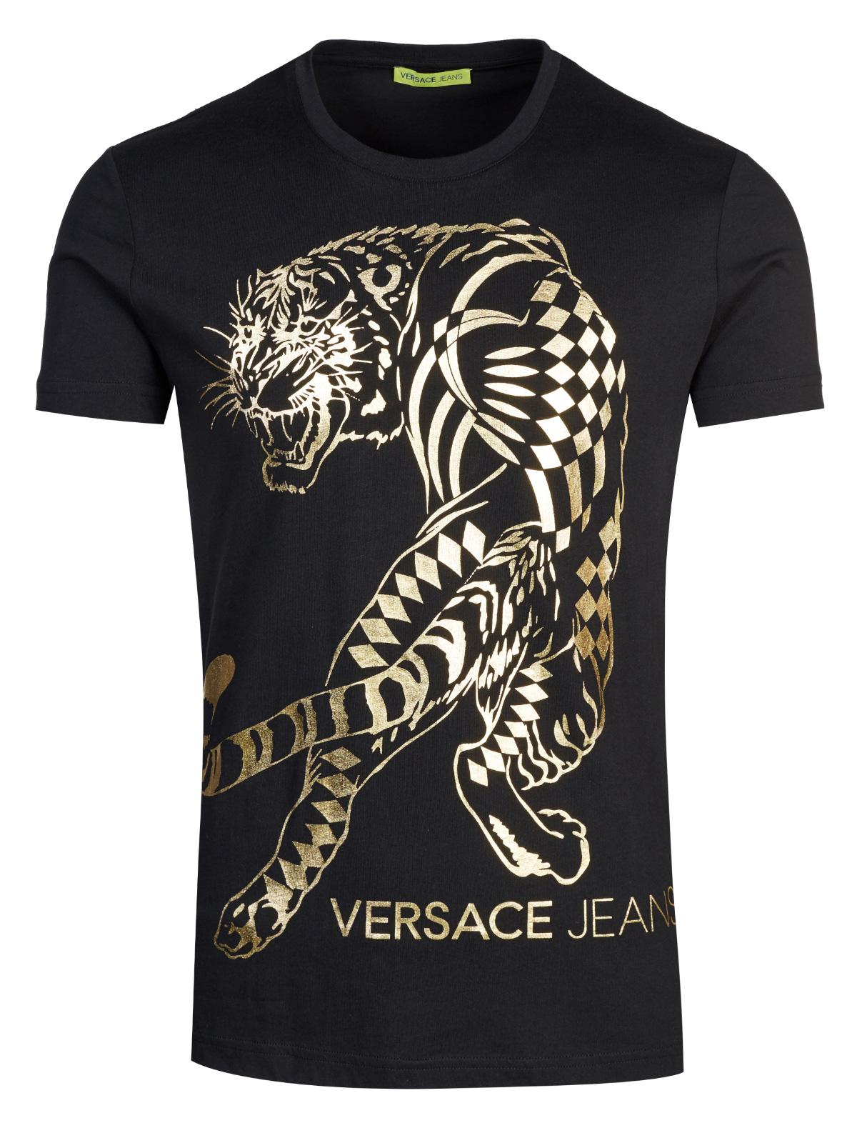 1d2f3bbad Versace Jeans Couture T-shirt black   Fashionesta online shop