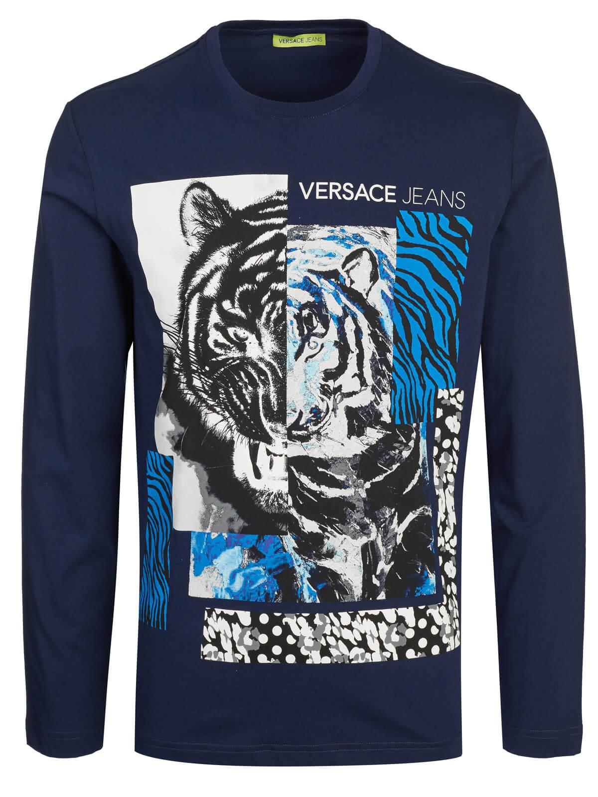 eb225e953 Versace Jeans Couture Longsleeve dark blue   Fashionesta online shop
