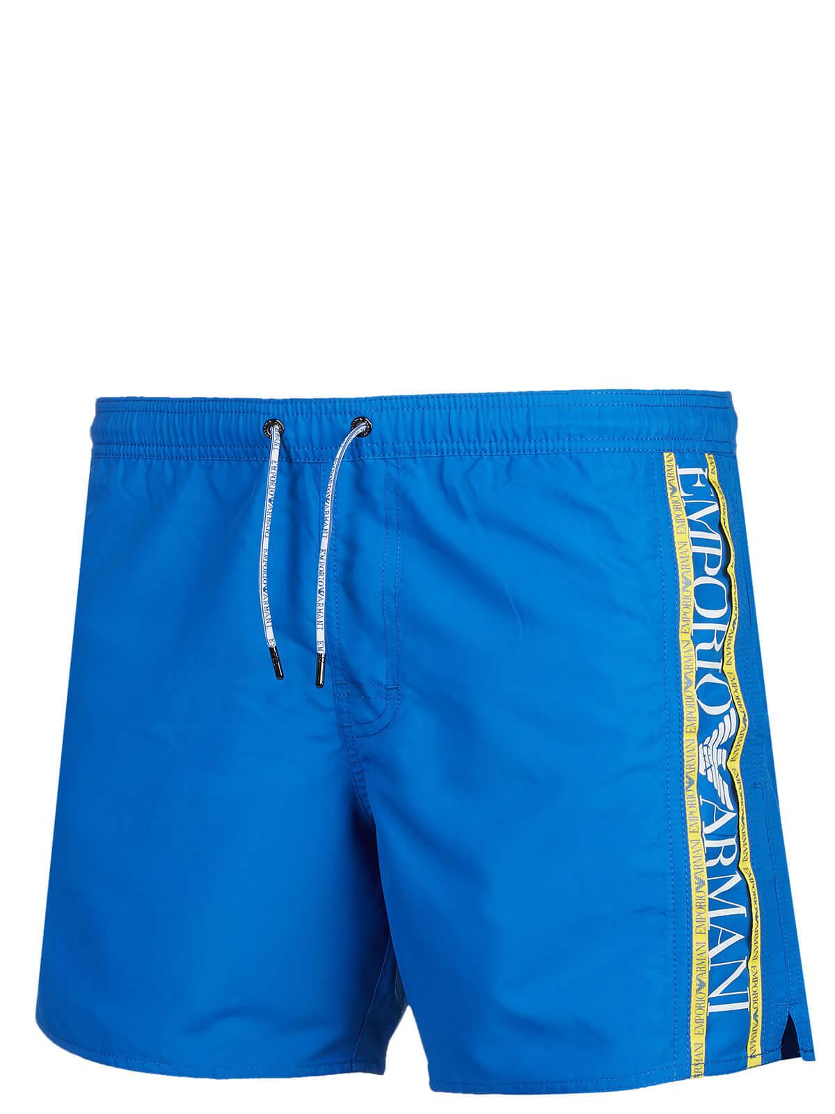 100% Qualitätsgarantie langlebig im einsatz UK-Shop Emporio Armani Badehose blau