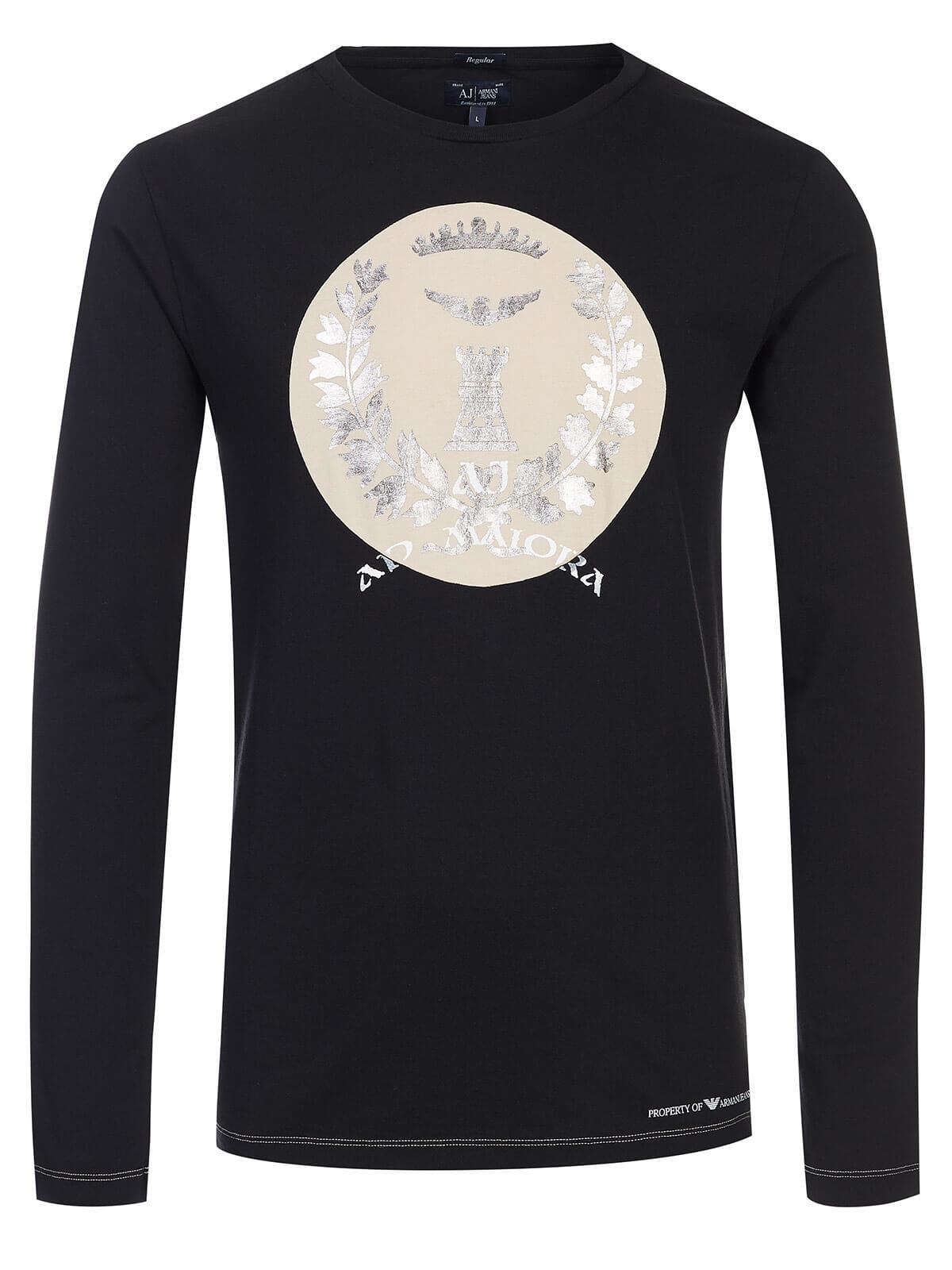 timeless design 820ba d3f6d Armani Jeans Longsleeve black
